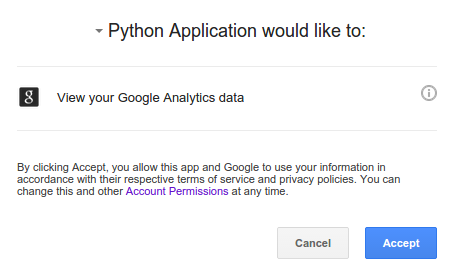 OAuth 2 0 for Google (Analytics) API with Python Explained   joy of data